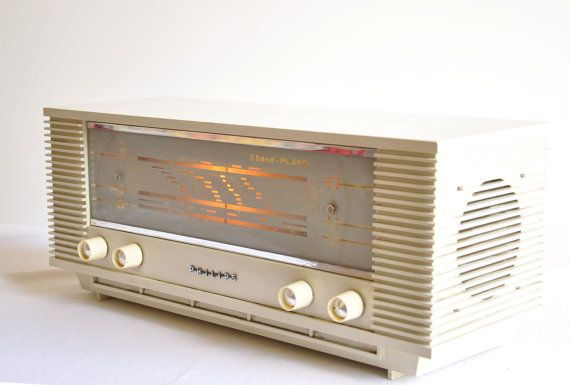 1964 Philips Tube Radio B3x40u 3 Band Plano By Thelittlebiker