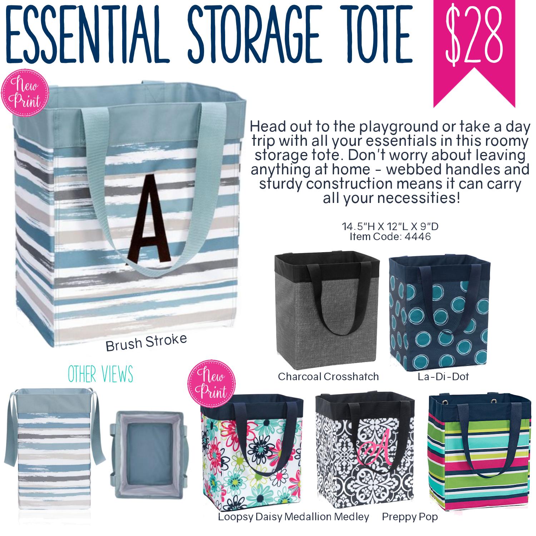 Thirty One Essential Storage Tote Spring Summer 2017 Thirty