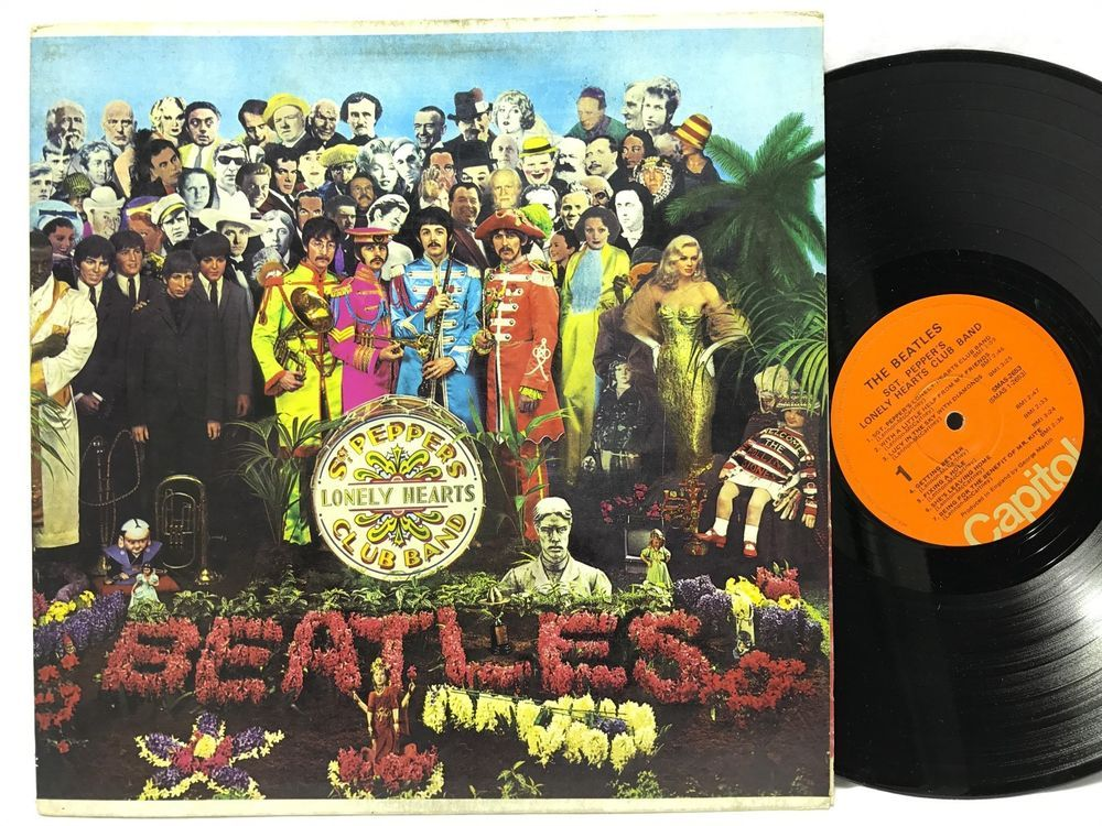 The Beatles Sgt Peppers Lonely Hearts Club Band Smas 2653
