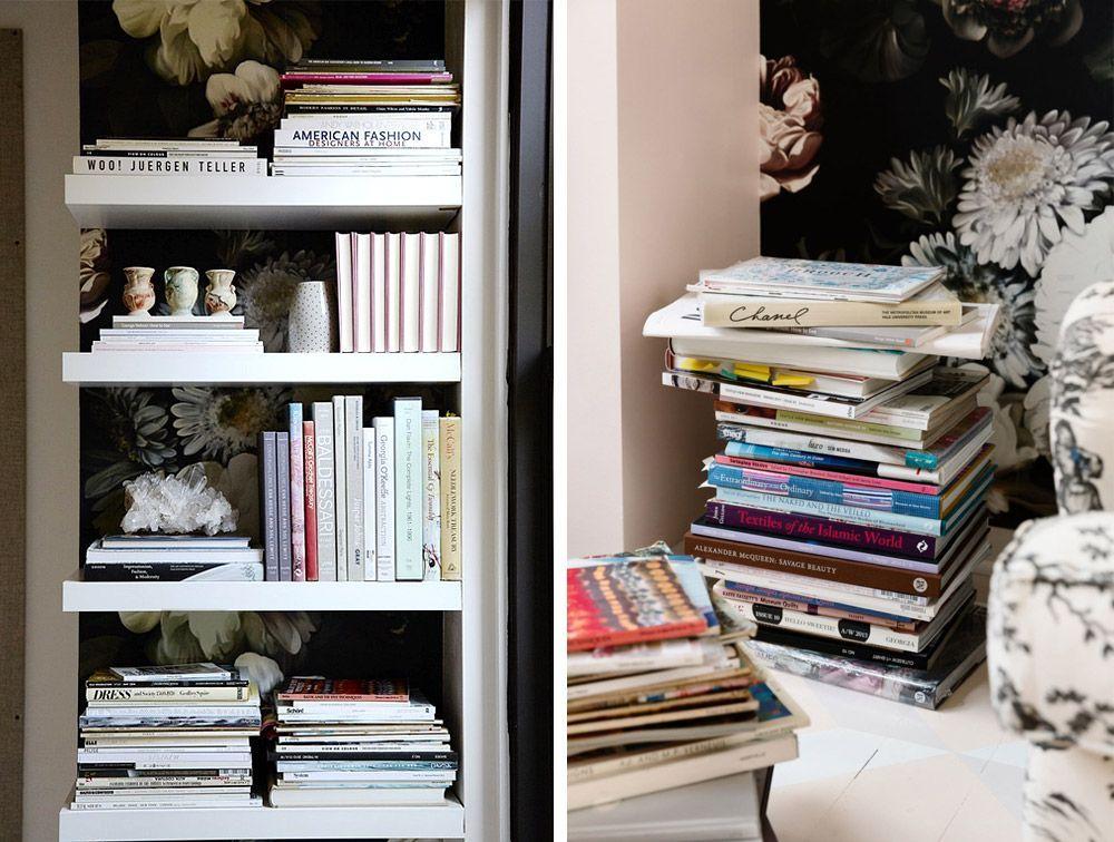 Femininino e criativo: o escritório da estilista Rebecca Taylor
