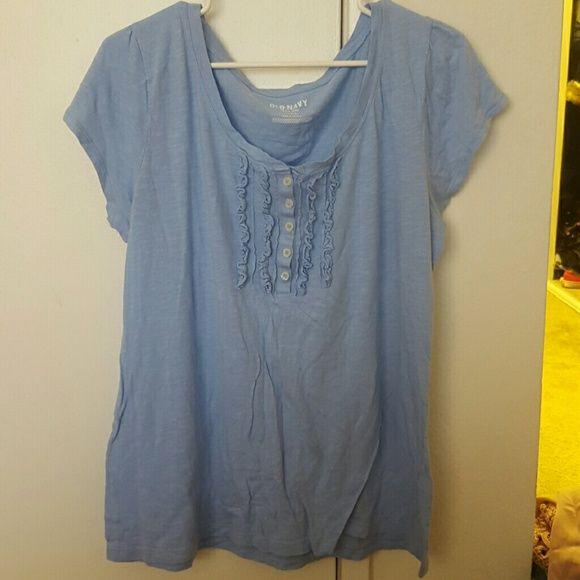 Cute top Baby blue :) Old Navy Tops Tees - Short Sleeve
