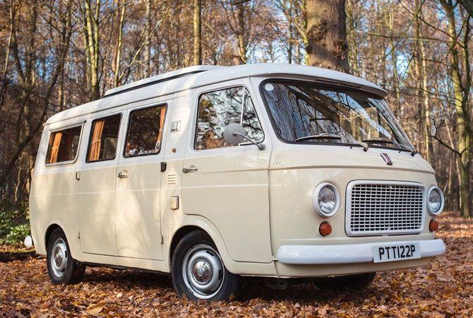 Vintage Fiat 236 Camper Van