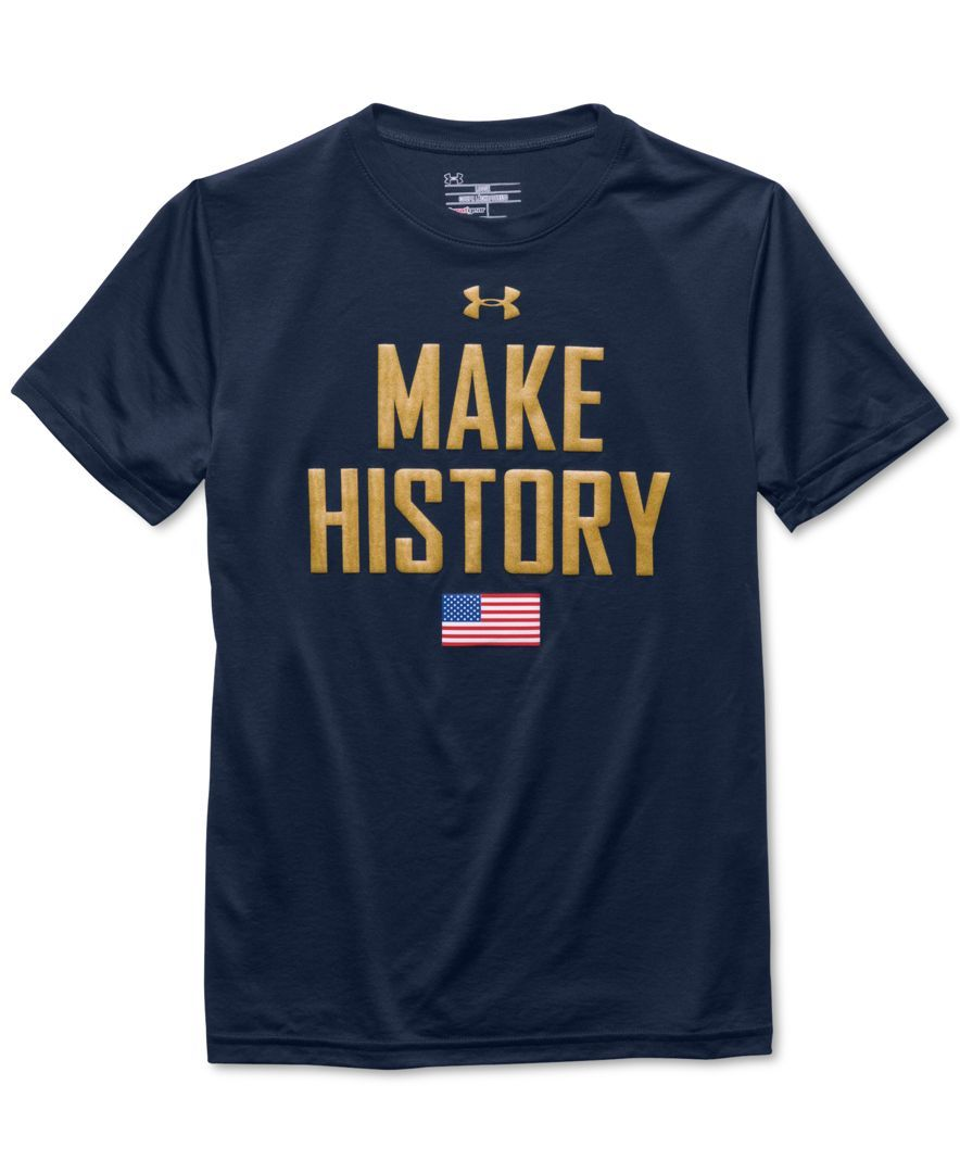 773c0fa5 Under Armour Boys' Make History T-Shirt | Boys Under Armour in 2019 ...