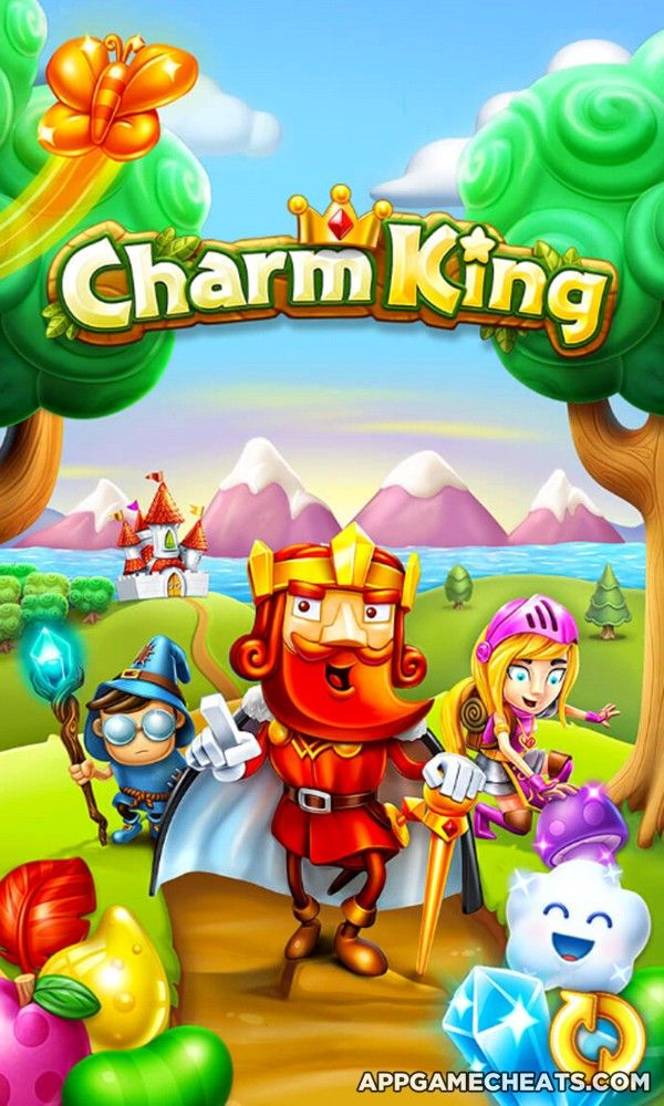 Charm King Tips Hack For Lives Gold Moves Boosters Appgamecheats Com