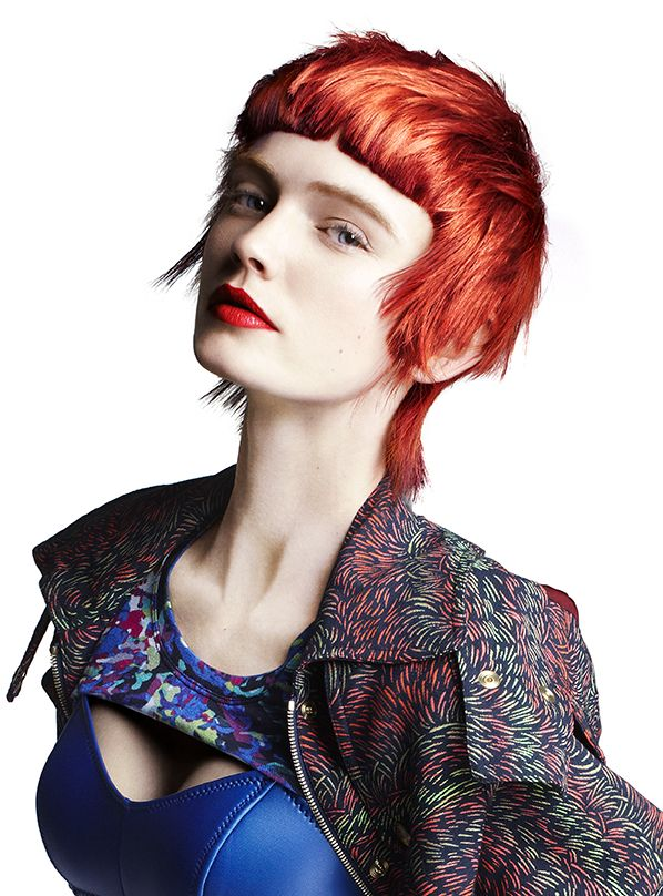 Japanese Hairdresser Covent Garden: The Montage. Cut By Indira Schauwecker, TONI&GUY Covent