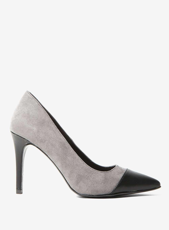 Grey Effie Court Shoes Shoes Court Shoes Shoes Shoes Heels Boots