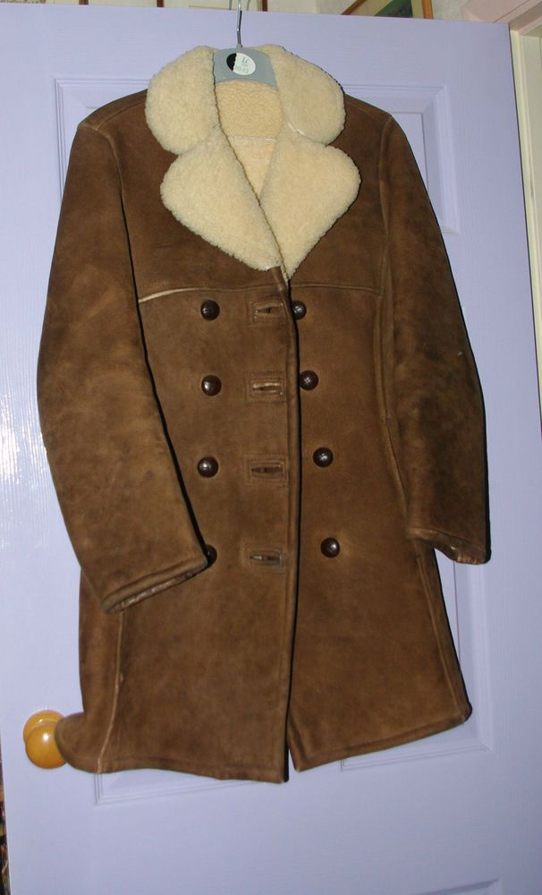 Sheepskin Ladies coat made by Beaubelle, London in Clothes, Shoes ...