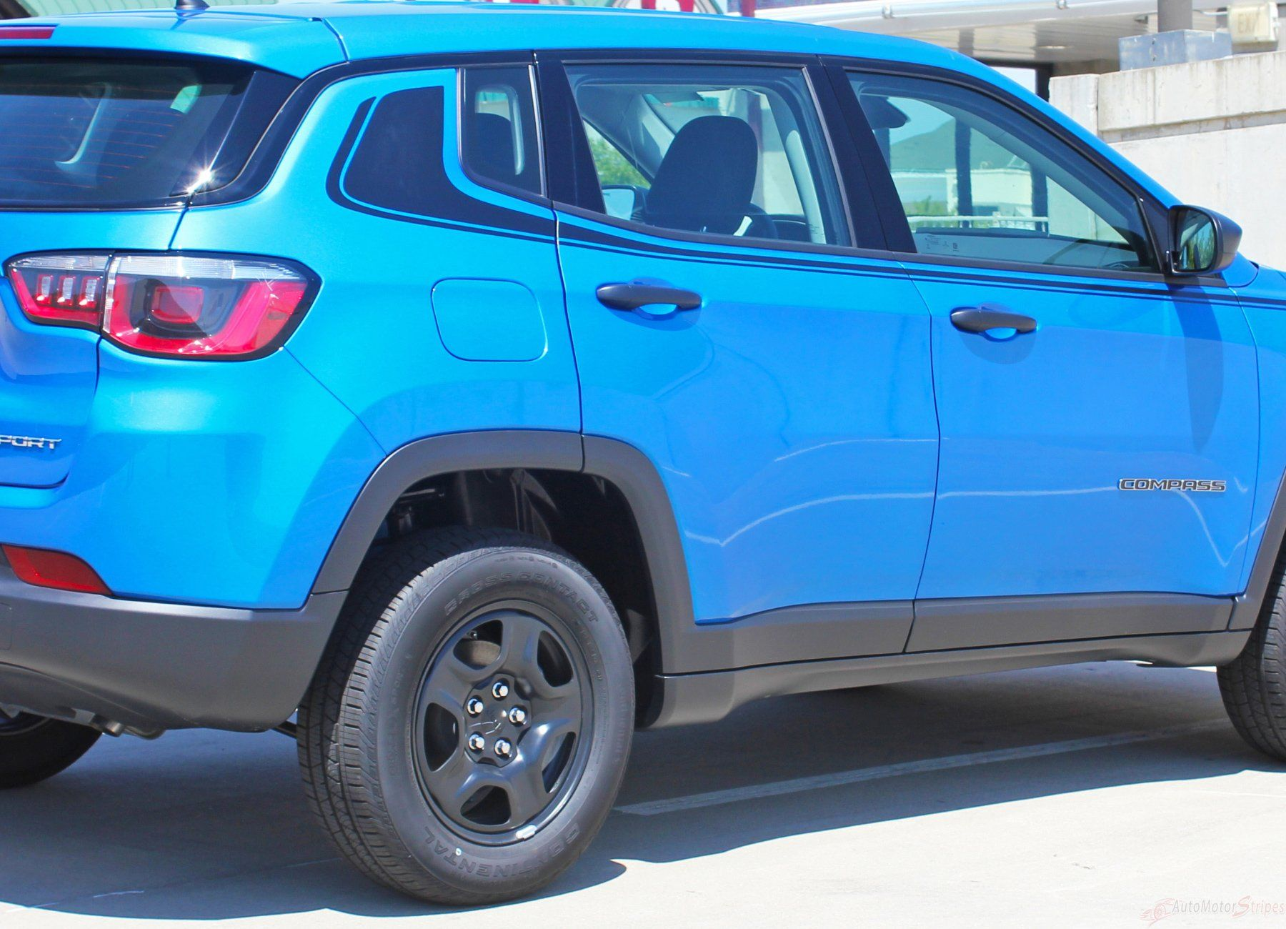 2017 2020 Jeep Compass Stripes Vinyl Graphics Decals Door Body Line Accent 3m Altitude Jeep Compass Jeep Vinyl Graphics