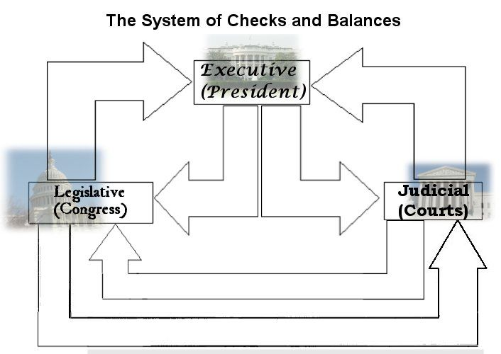 Flow Chart Checks and Balances--This could be used to learn the - Flow Map Printable