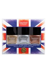 butter LONDON 'Olympics Heavy Medal' Trio