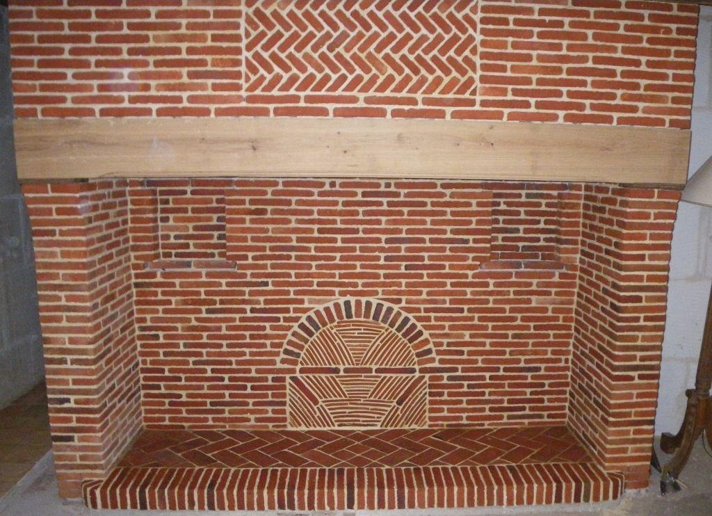 R sultat de recherche d 39 images pour brique de wulf - Peindre cheminee brique rouge ...