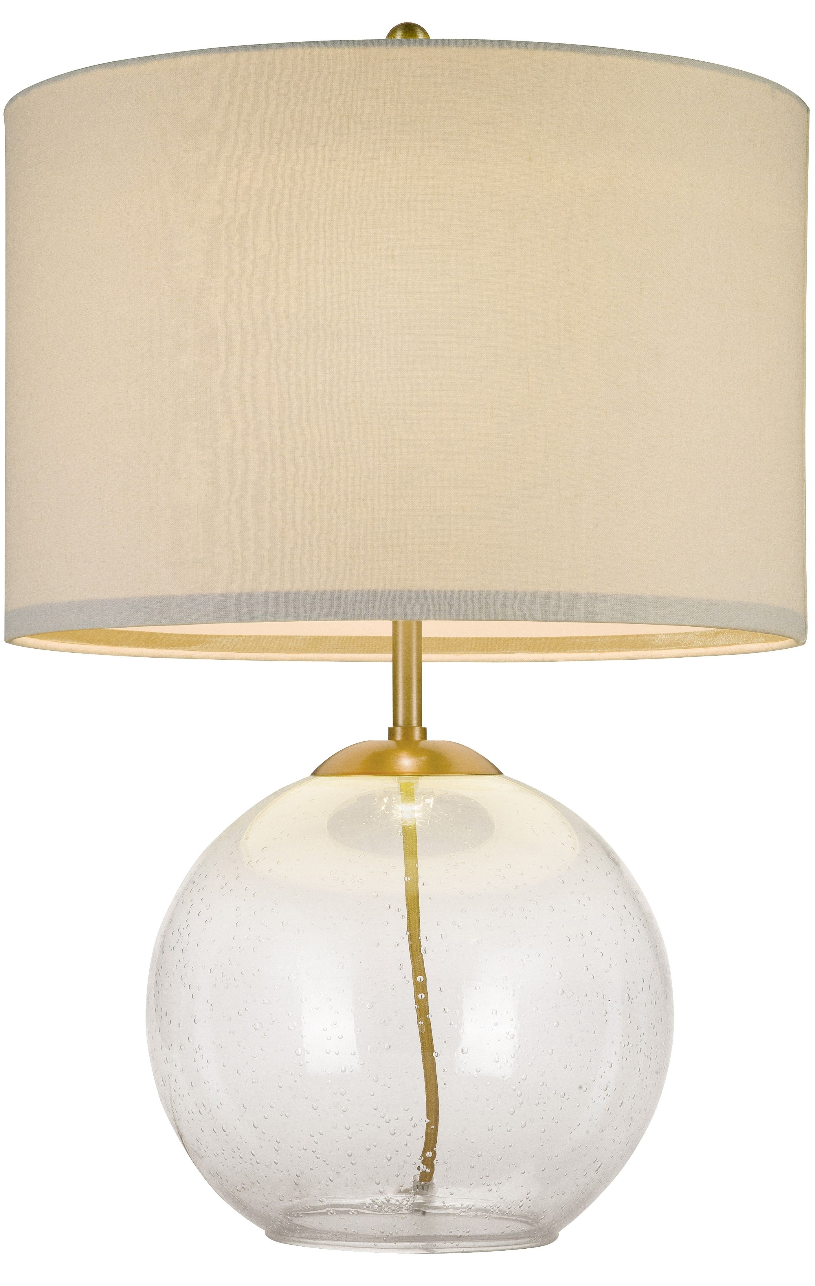 Cupcakes And Cashmere Seeded Glass Table Lamp Home