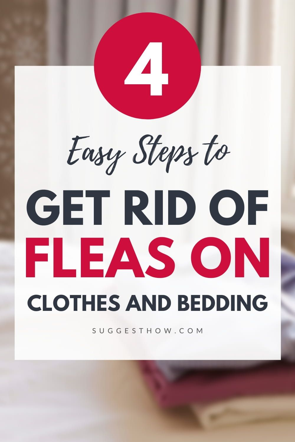 How To Get Rid Of Fleas On Clothes And Bedding In 2020 How To Get Rid Fleas Rid
