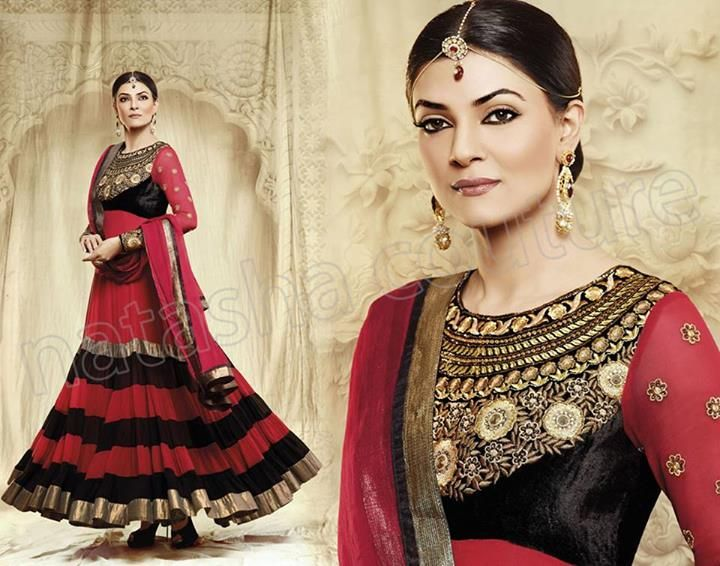 Indian Anarkali Dresses | Anarkali Frocks Dresses 2013 14 1 Natasha ...