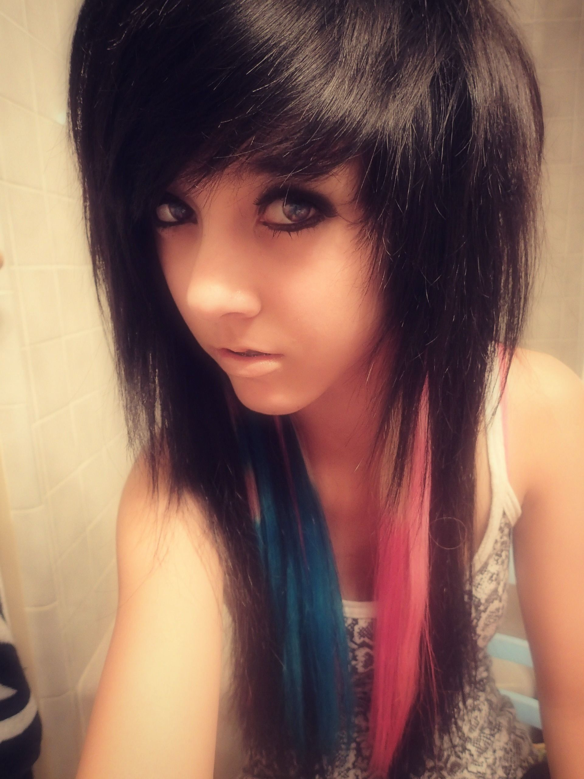 Pin by kayla chapman on hairrrr pinterest emo girls