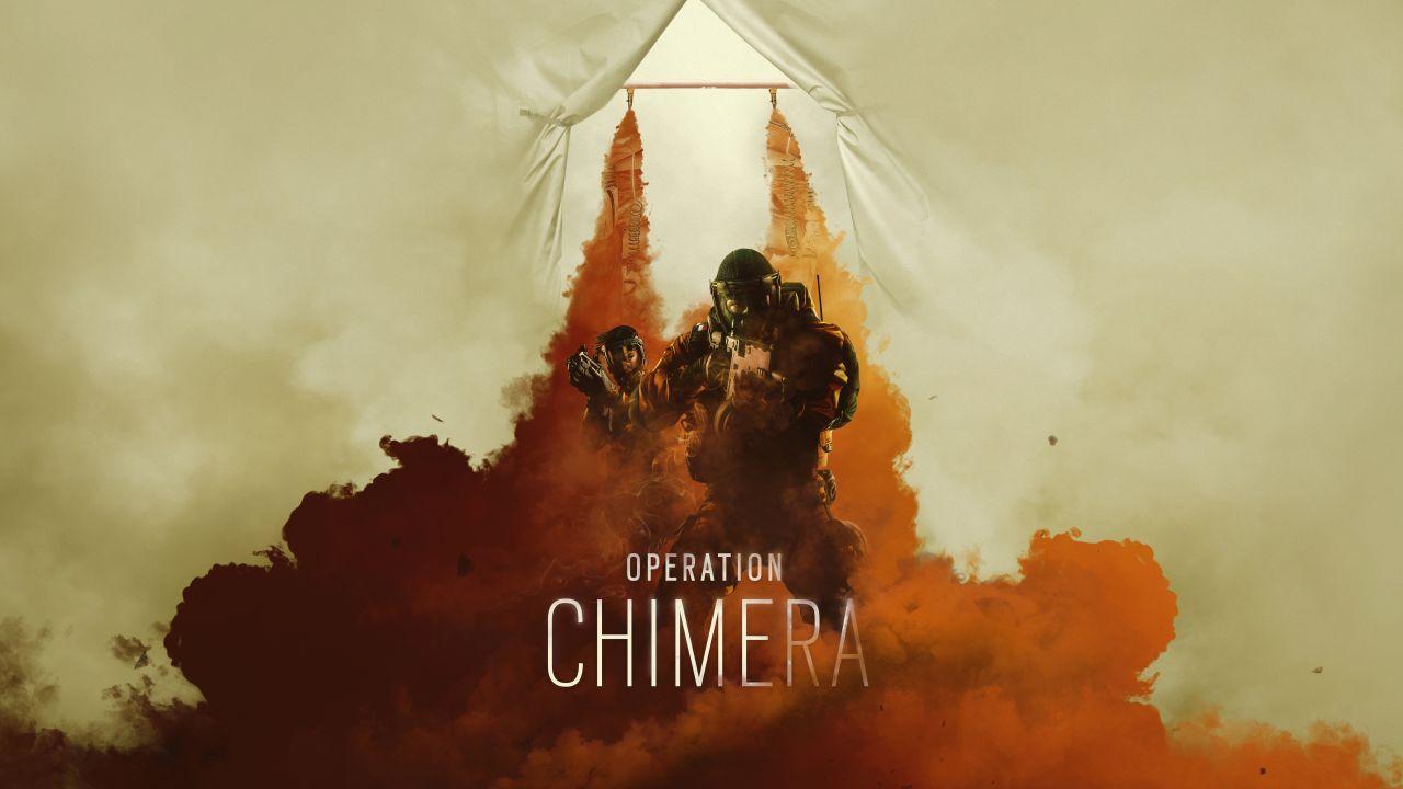 Wallpaper Rainbow Six Siege Operation Chimera 2018 4k Games