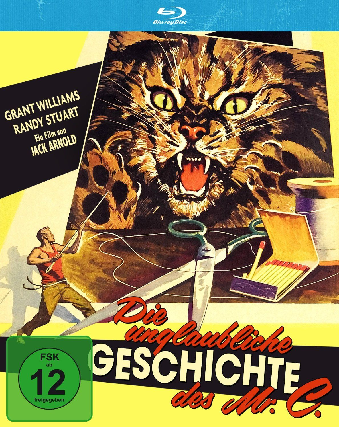 The Incredible Shrinking Man - Blu-Ray (Koch Media Region B) Release Date: Available Now (Amazon Germany)