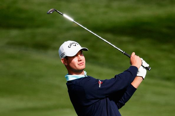 Harris English Harris English plays a shot on the 2nd hole during the ... |  English play, Golf clubs, English