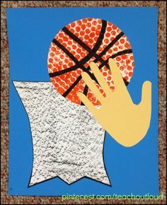basketball craft ideas basketball craft more sports preschool crafts basketball 1097