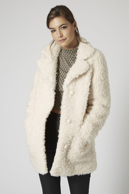 a25be56313fe Photo 2 of PETITE Faux Fur Teddy Coat | Fall/Winter Wardrobe in 2019 ...