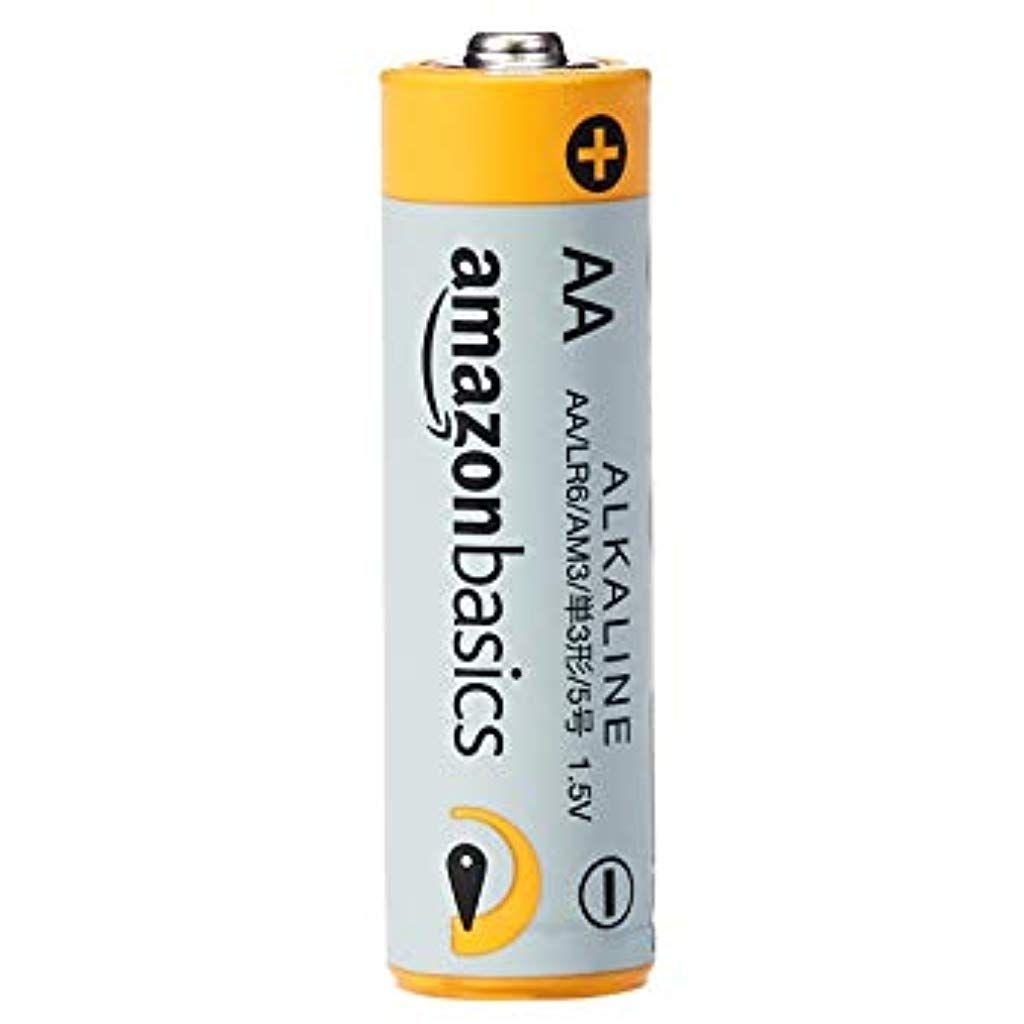Amazonbasics Aa 1 5 Volt Performance Alkaline Batteries Pack Of 4 Electronics Computers Accessories Laptop Accessor Alkaline Battery Battery Pack Alkaline