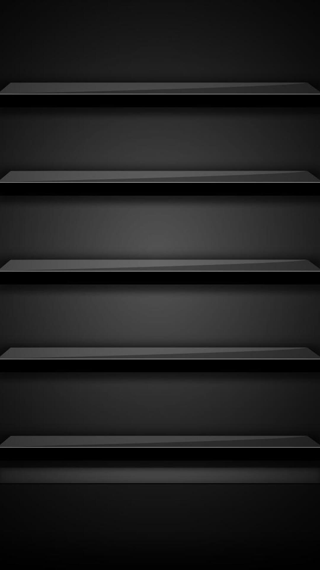 ブラックシェルフ Iphonex スマホ壁紙 待受画像ギャラリー Iphone7plus 壁紙 モバイル用壁紙 黒の壁紙
