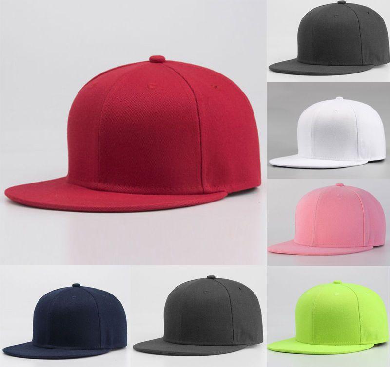 bd49e79c59 Men Women Sports Baseball Cap Blank Plain Cotton Summer Hot Causal  Adjustable Solid Snapback Golf ball Hip-Hop Hat