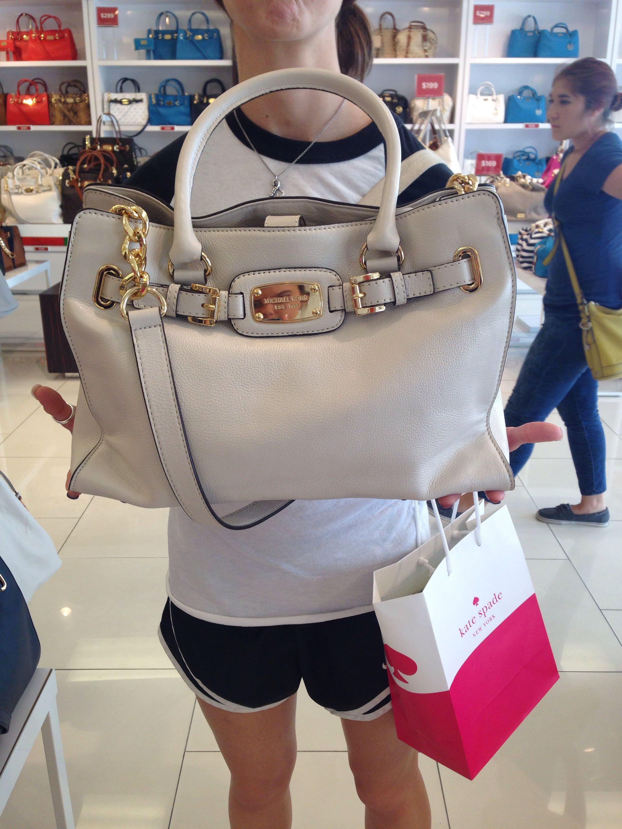 106fa7b197d34b Michael Kors bag from San Marcos outlets! | Accessories! | Handbags ...