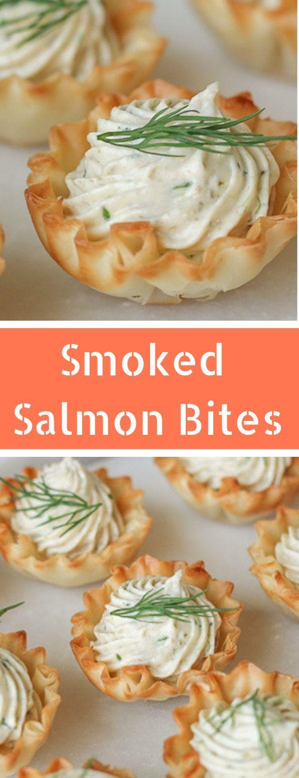 Irresistible Smoked Salmon Appetizers