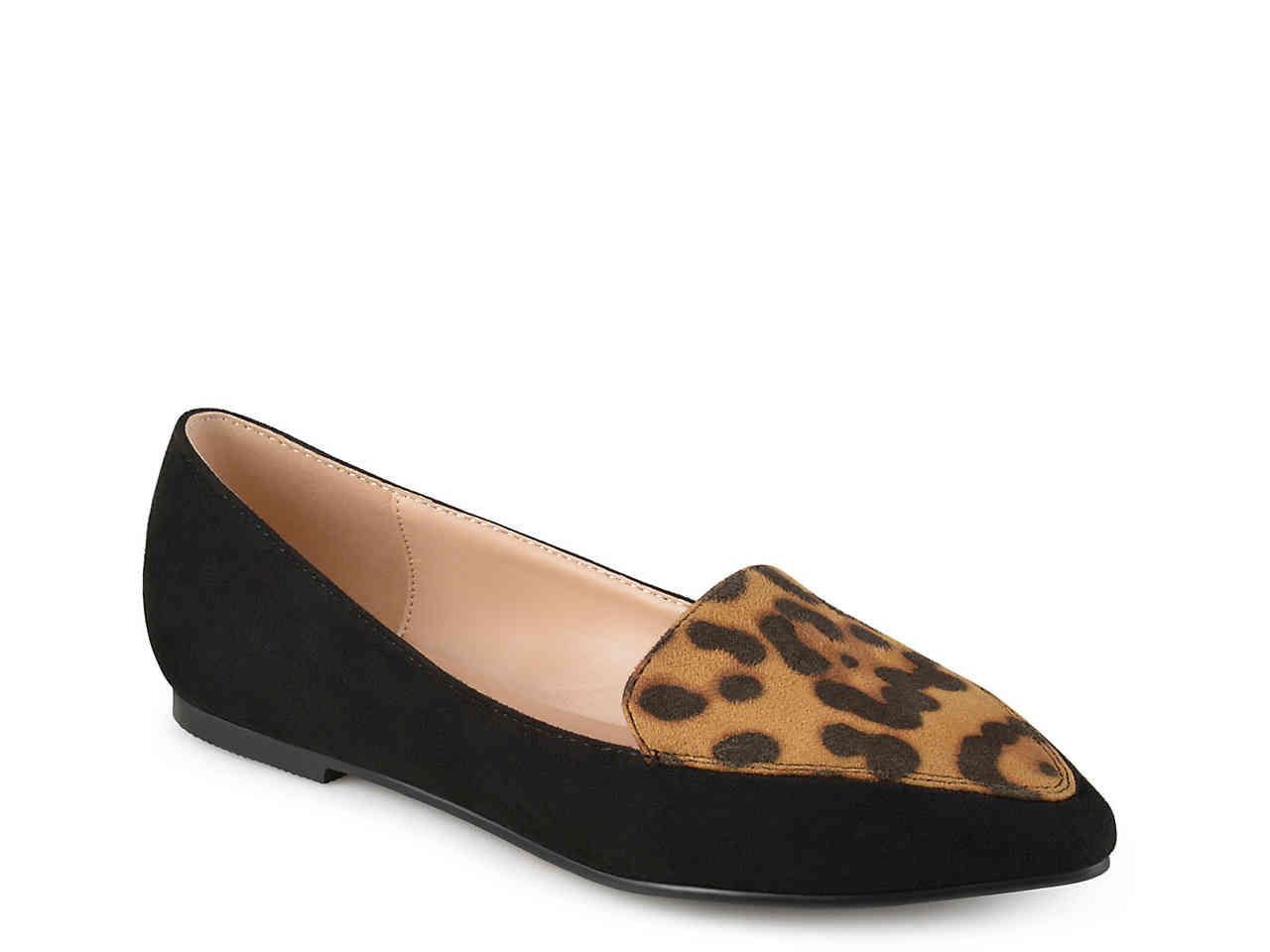 Loafers, Dsw shoes, Leopard print flats