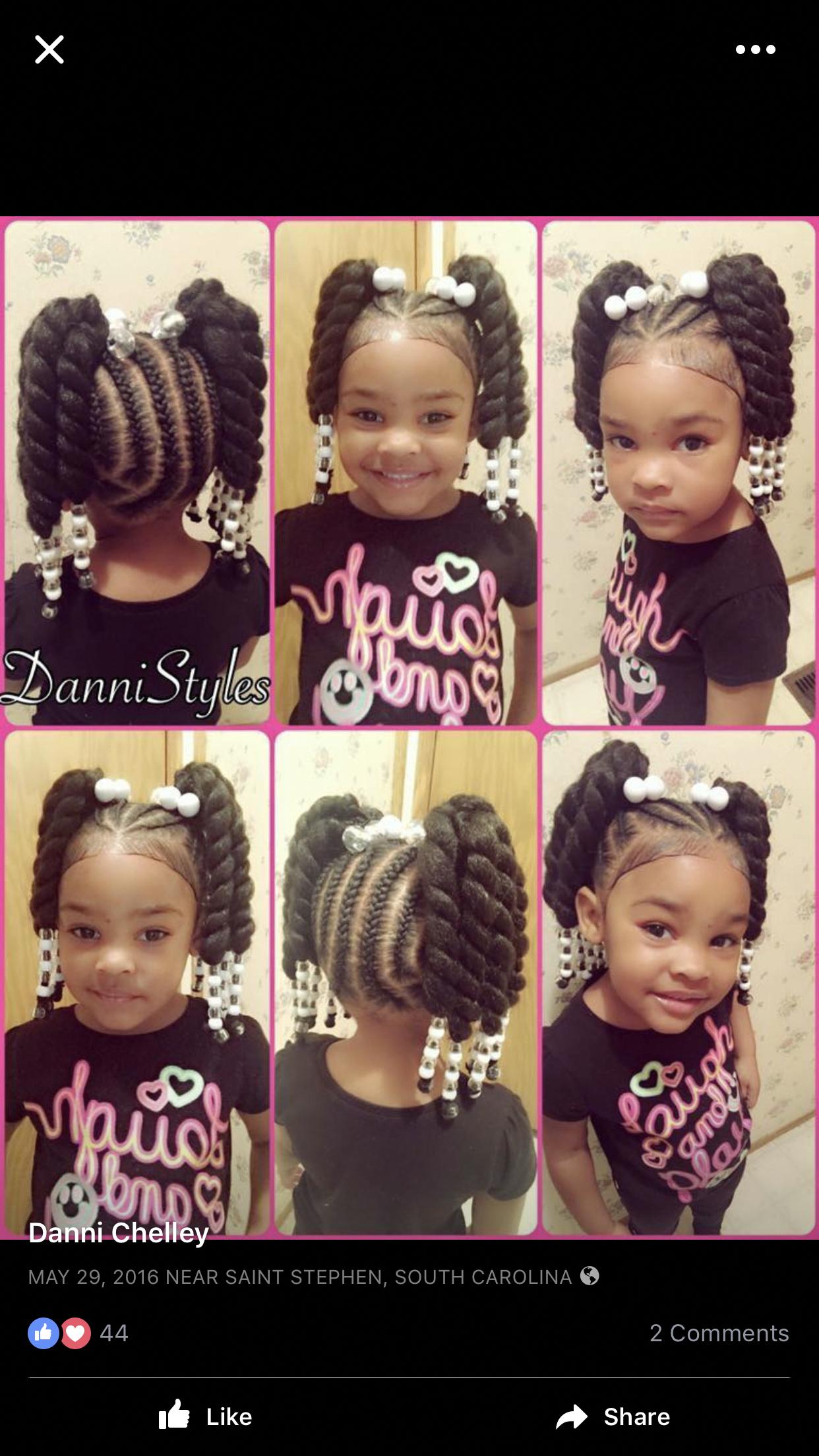 Latest Natural Hairstyles For Short Hair Naturalhairstylesforshorthair Little Girl Braids Baby Hairstyles Kid Braid Styles