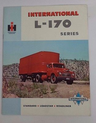 vintage international harvester l 170 truck brochure farm pickup rh pinterest com International Harvester Loadstar international harvester truck service manual