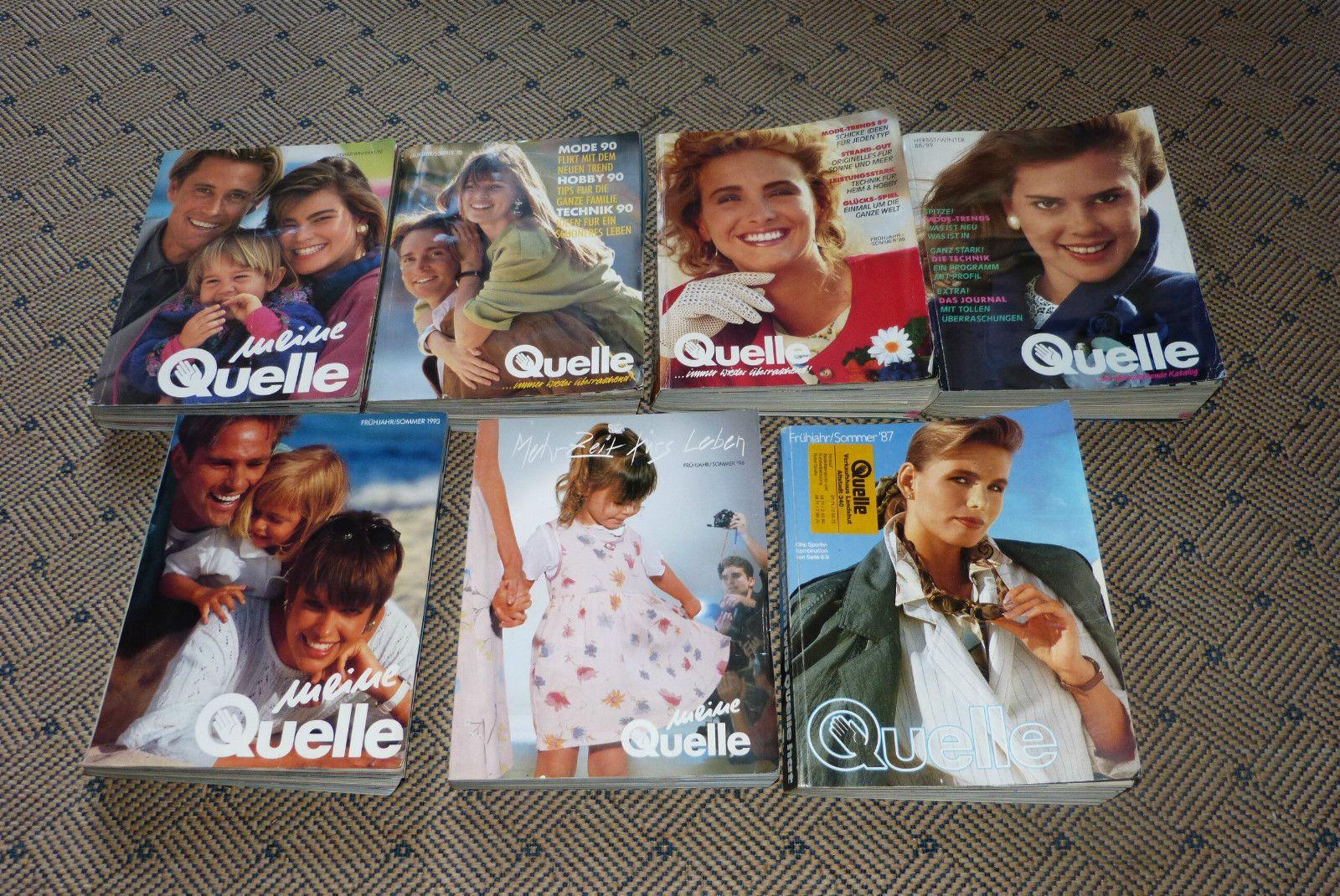 8d509b99367114 7 Quelle Kataloge - Katalog Sammlung von 1987 - 1996