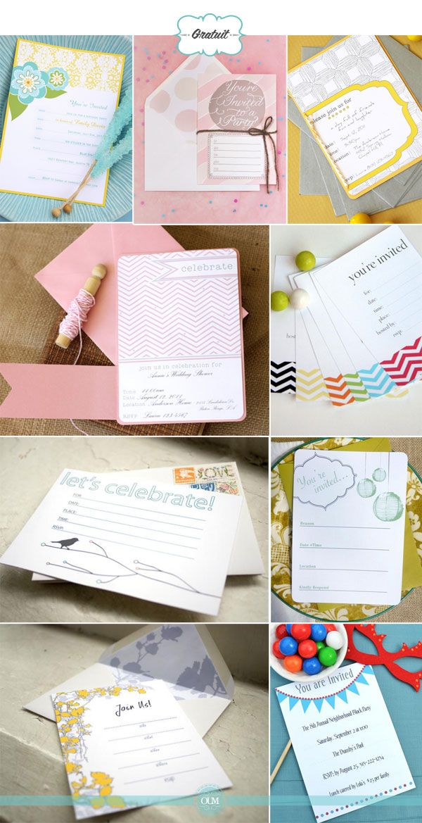 Blog Organiser Un Mariage Faire Part Mariage Gratuit Faire Part A Imprimer Invitation Mariage A Imprimer