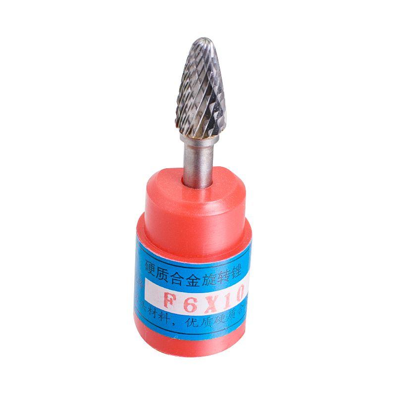 "HOT Cylindrical Cut Tungsten Carbide Burr Bur Cutting Tool Die Grinder Bit 1//4/"""