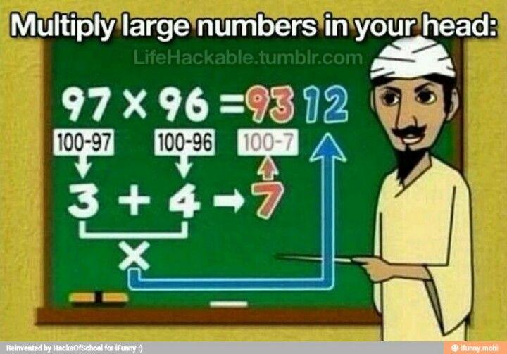 Multiplication hack