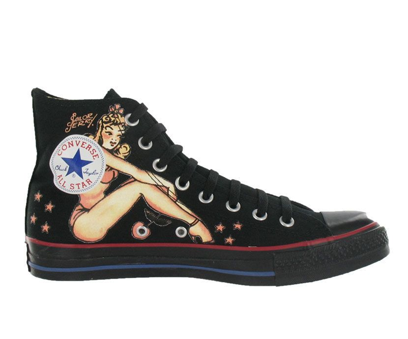 Converse All Star Chuck Taylor by Sailor Jerry | Piercings
