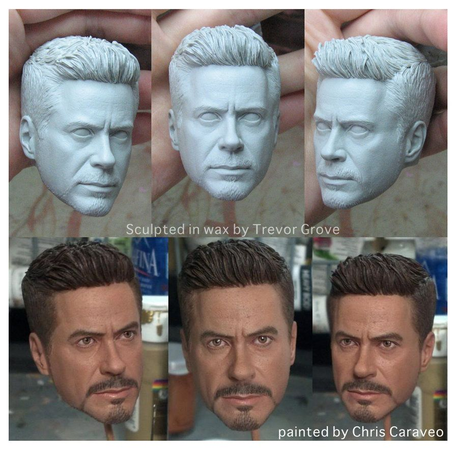 This was something from a couple of years back. Sculpted for a client making 1:4 scale Iron Man pieces around the time the 3rd movie came out. Not sure if any of these were ever released. The paint...