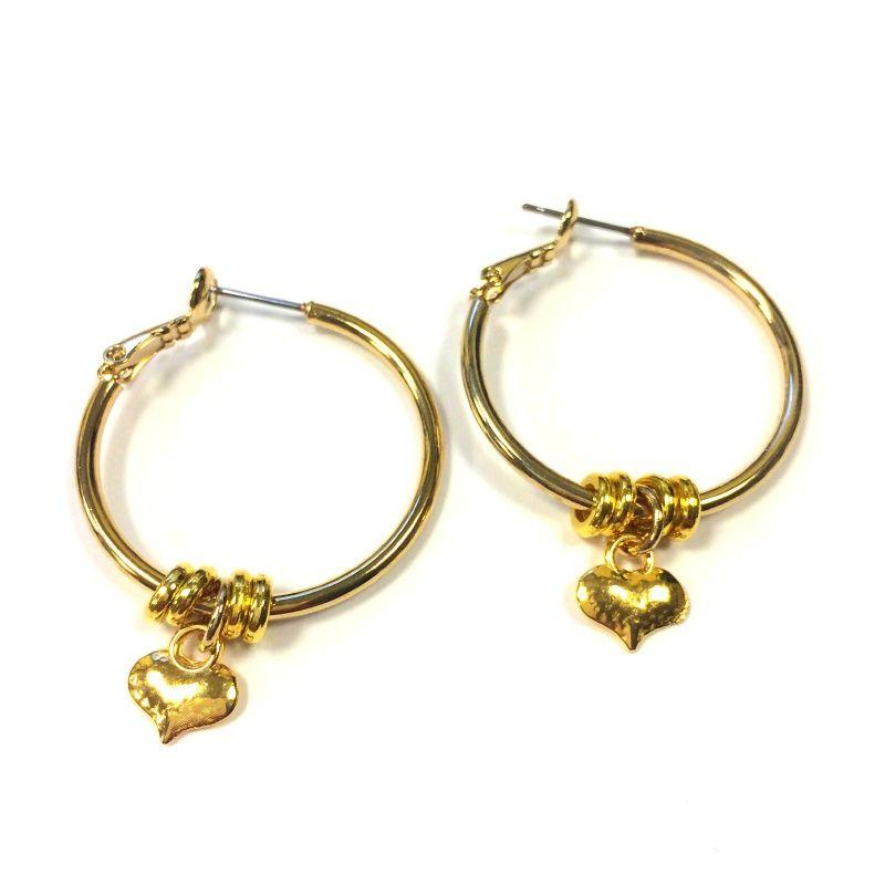 Hartjes oorbellen van Zatthu! <3 #heart #earring #oorbel #jewelry #fashion