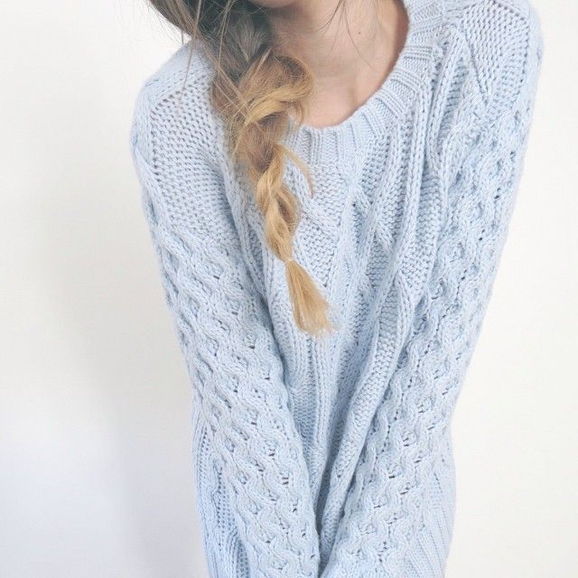 pale blue jumper | My Style | Pinterest | Jumper, Winter and Fall ...