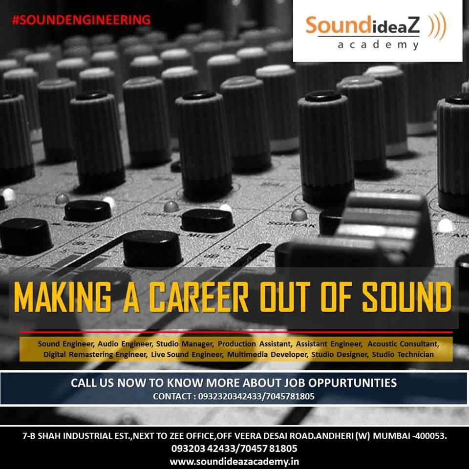 Program Overview Cras Audio Engineering Schools Music