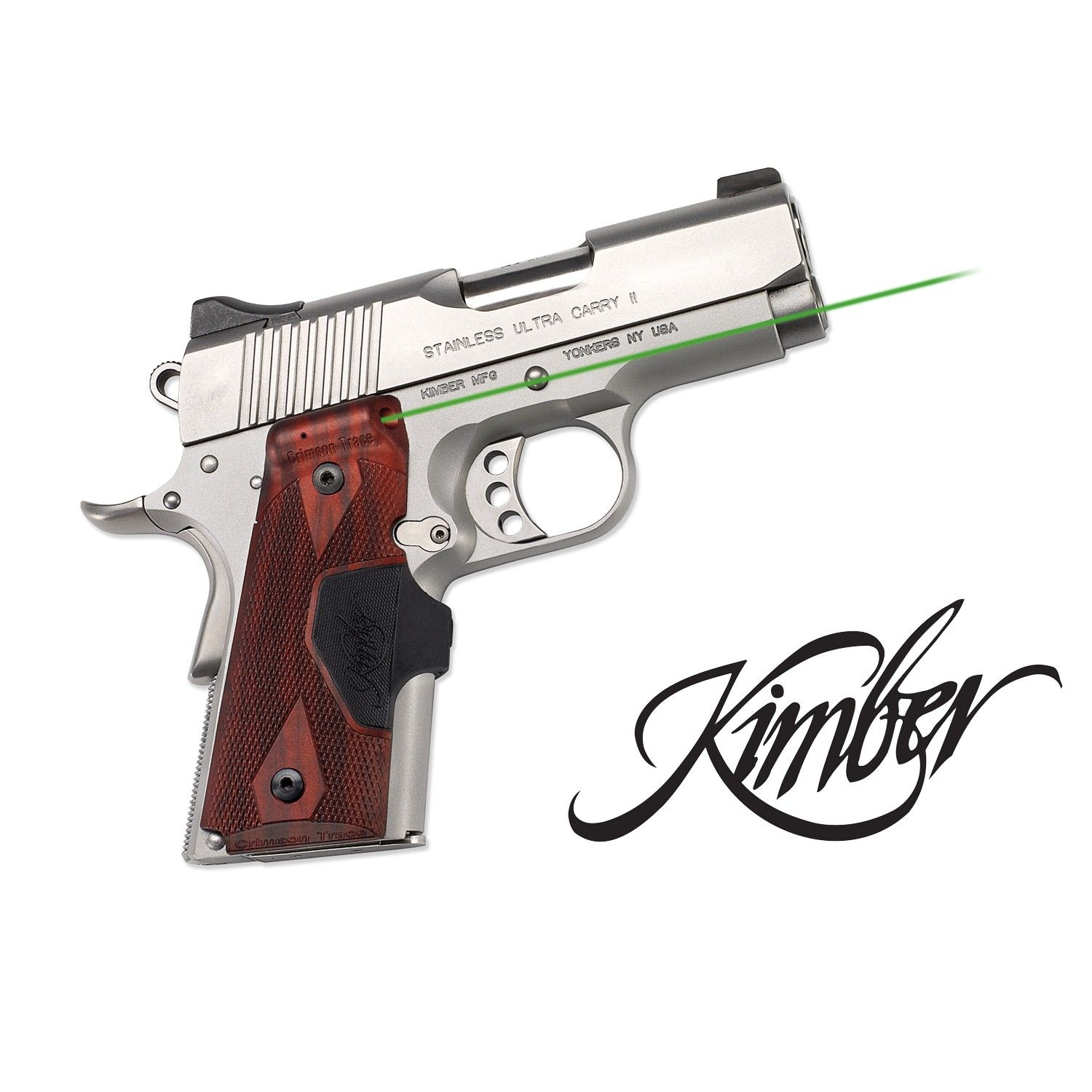 Green Laser Sight for Kimber Compact 1911 | Official Crimson