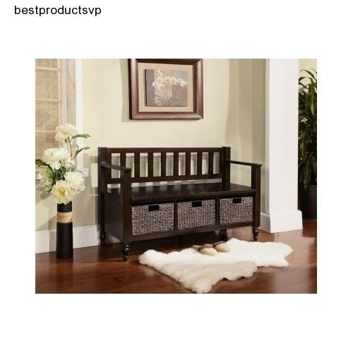 #Ebay #Wood #Storage #Bench #Entryway #Seats #Entry #Wooden #Brown #Durable #Mudroom #Elegant #New #SimpliHome #Transitional  sc 1 st  Pinterest & Ebay #Wood #Storage #Bench #Entryway #Seats #Entry #Wooden #Brown ...