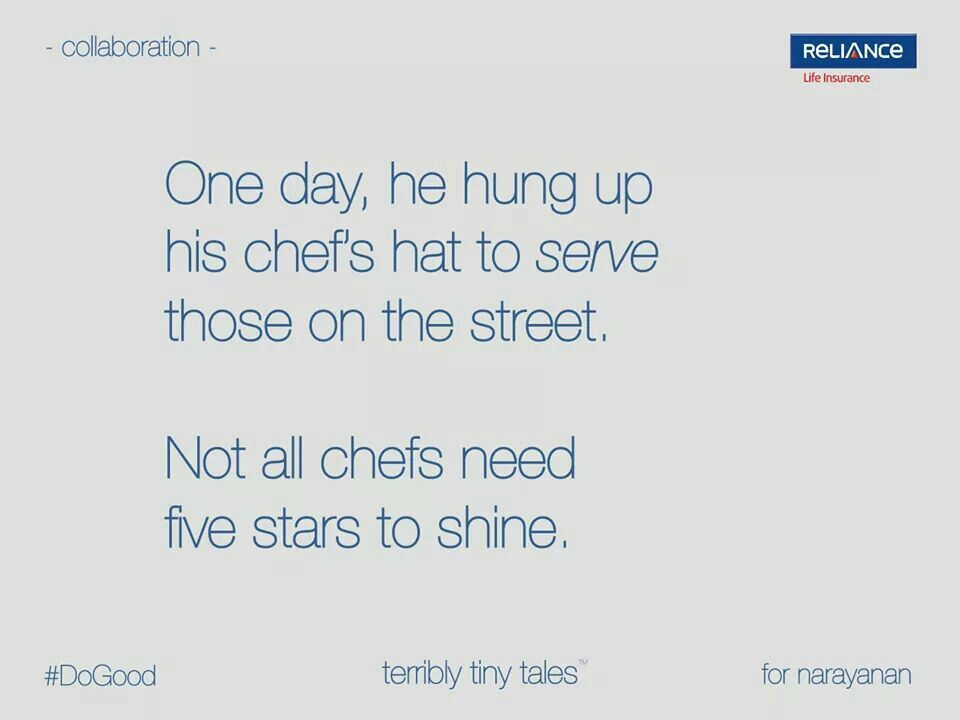 Not All Chefs Need 5 Stars To Shine Pretty Short Stories