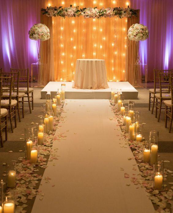Wedding Ceremony Decorations Ideas Indoor: Wedding Ceremony Inspiration