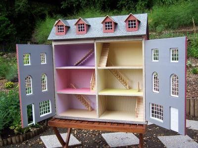 maison de poupee cr ation meuble en carton de maison. Black Bedroom Furniture Sets. Home Design Ideas