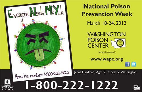 Wapc Home Poison Prevention Week Best Bookmarks