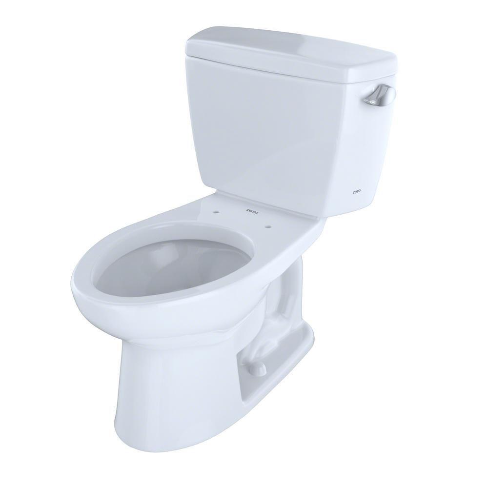 Toto Eco Drake Ada 2 Piece 1 28 Gpf Single Flush Elongated Toilet