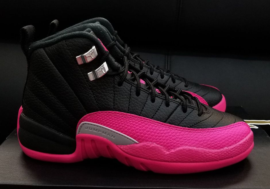 a52c9f467c Jordan 12 Black Deadly Pink Release Date 510815-026 #thatdope #sneakers  #luxury #dope #fashion #trending