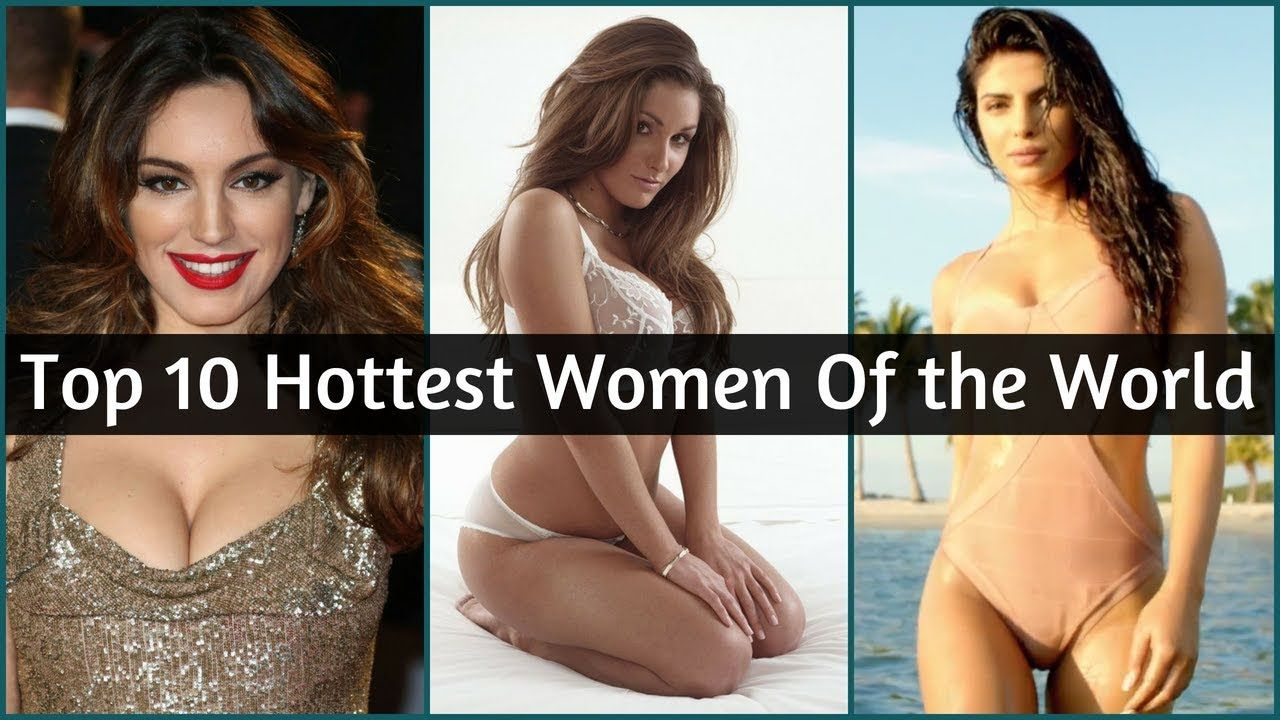 Girl 10 sexiest world top Top 10